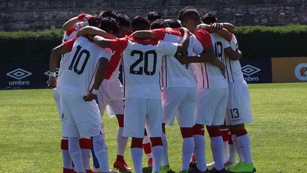 La Selección Peruana sub 17 tiene la oportunidad de cerrar el 2018 con un título.