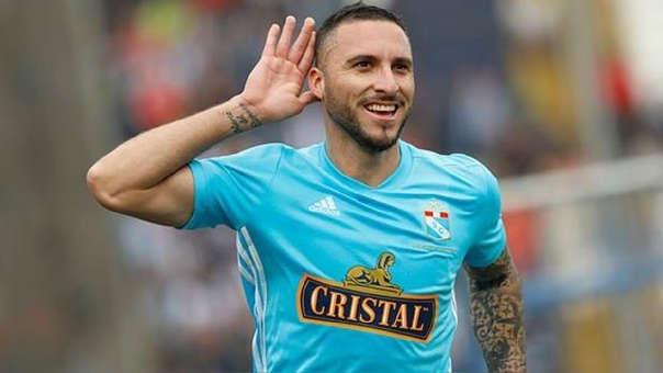 Emanuel Herrera cerró el año marcando 40 goles con Sporting Cristal.