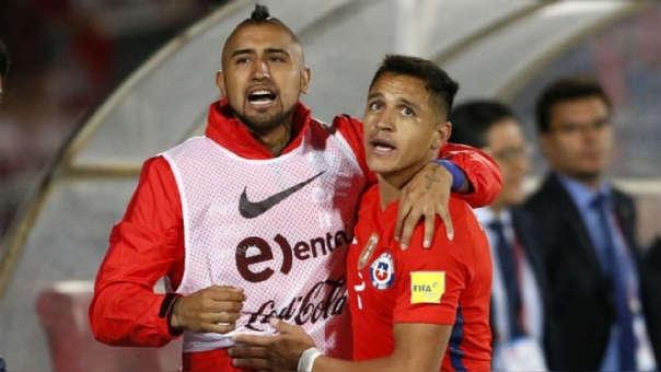 Arturo Vidal y Alexis Sánchez han ganado dos Copas América con la Selección de Chile.