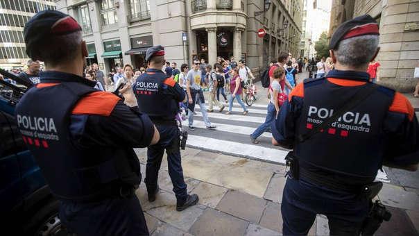 Las detenciones fueron fechas por la Policía autónoma de Cataluña, conocida como Mossos d'Esquadra.