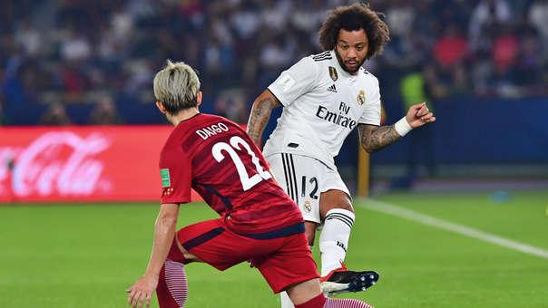 Marceloa ha ganado tres Mundiales de Clubes con el Real Madrid.
