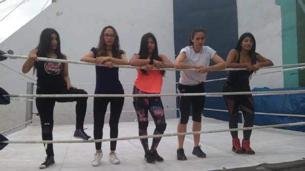 Taller Lucha Libre femenina