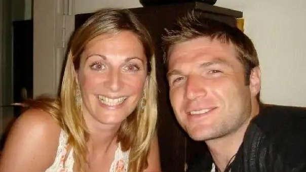 Sarah Williamson y su esposo