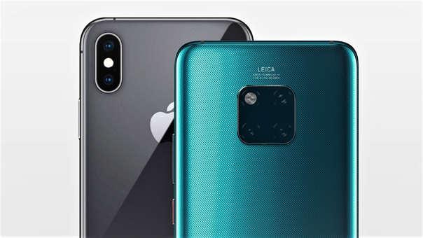Enfrentamos a dos de los smartphones más potentes del año: el iPhone XS Max y el Huawei Mate 20 Pro