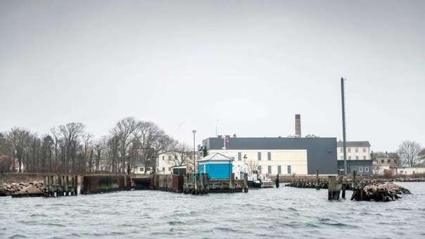 Vista de la isla de Nordholm, en Dinamarca.