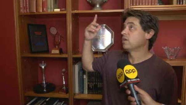 Extenista denunció el robo de sus trofeos.