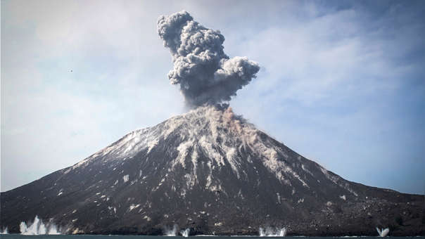 Indonesia volcán