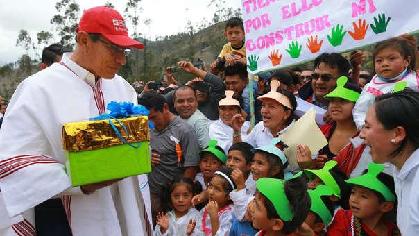 Vizcarra viajó a Moquegua para pasar la Navidad en compañía de su familia, desde aquí envió su saludo fraterno a todos los peruanos.