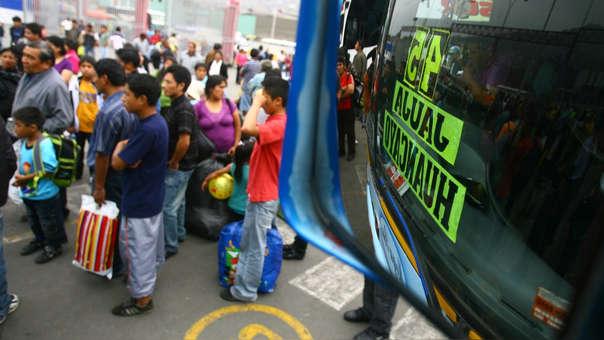 En el caso de los residentes de Lima, el gasto promedio durante el viaje sería de alrededor US$ 147.