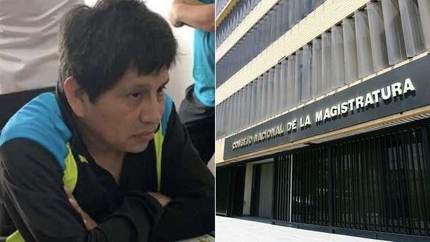 Fiscal Abel Concha fue detenido esta mañana.