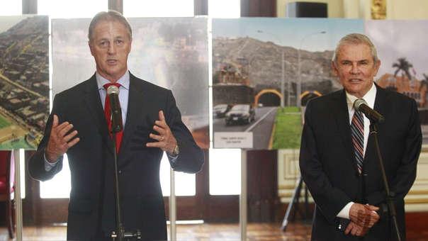 El electo alcalde de Lima dijo además que la transferencia municipal