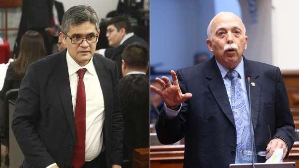 Fiscal Pérez denunció una amenaza del congresista fujimorista.