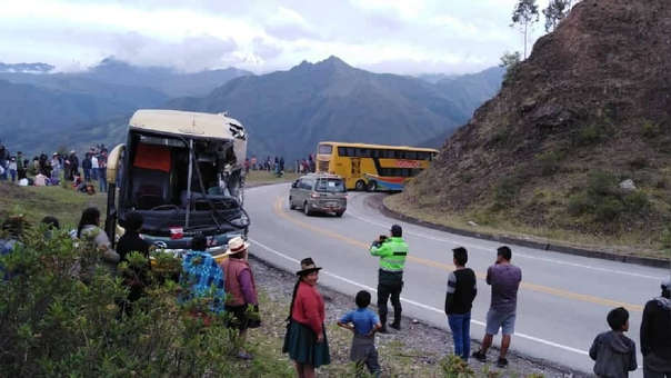 Accidente de tránsito en Limatambo