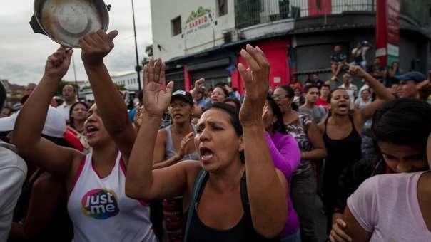 Las crisis en Venezuela se acentúa.