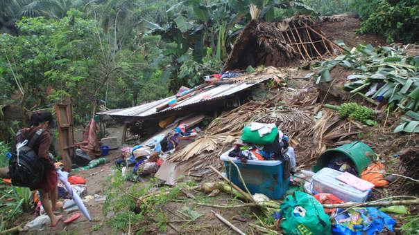 Deslizamiento en Filipinas