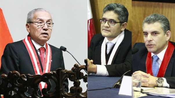 Pedro Chávarry removió a los fiscales Vela y Pérez.