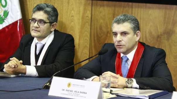 El fiscal de la Nación brindó una conferencia de prensa previa al Año Nuevo.