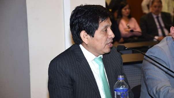 Juzgado dictó prisión preventiva para Abel Concha Calla.