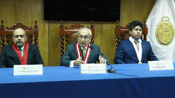Los fiscales fueron colocados en reemplazo de Vela y Domingo Pérez.