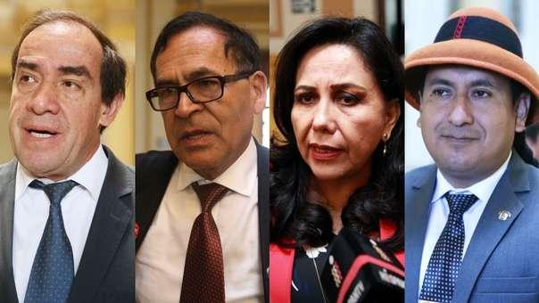 Los congresistas saludaron la decisión de los fiscales.