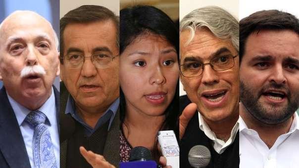 Congresistas piden la renuncia del fiscal de la Nación.