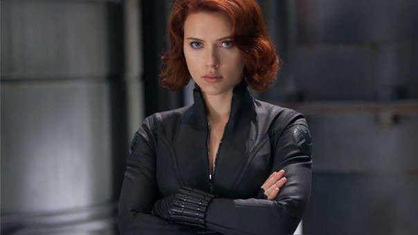 Johansson como 'Black Widow', parte de los Avengers.