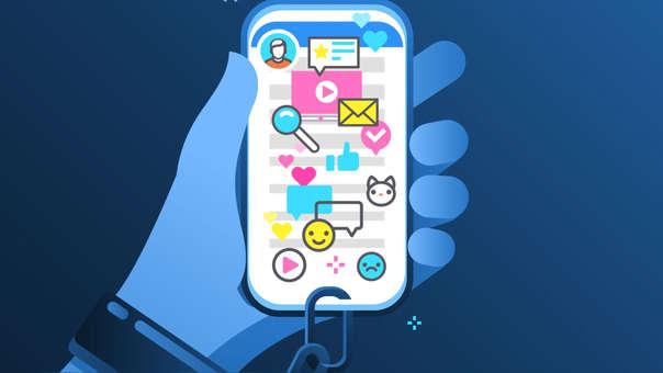 Los usuarios no se pueden despegar de sus redes sociales.