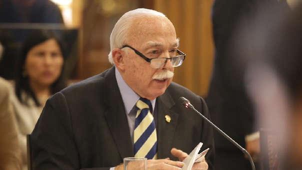 El vocero también se refirió a la situación de Pedro Chávarry como titular del Ministerio Público.