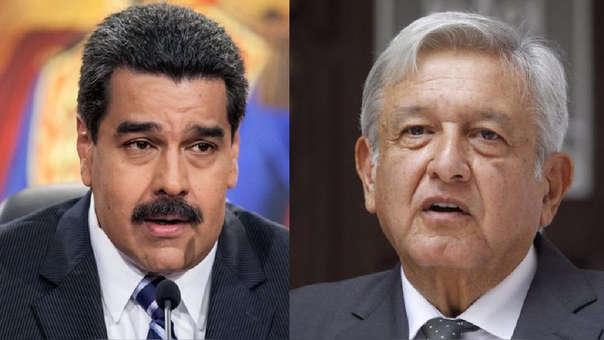 Maduro y López Obrador