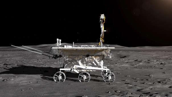 La sonda lunar Chang'e-4