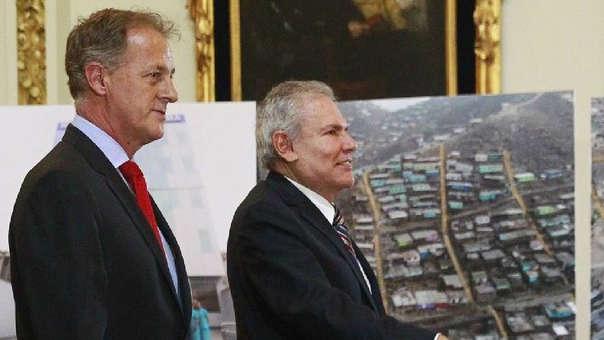 Jorge Muñoz y Luis Castañeda