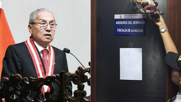 Fiscalía intervino el despacho del asesor de Pedro Chávarry.