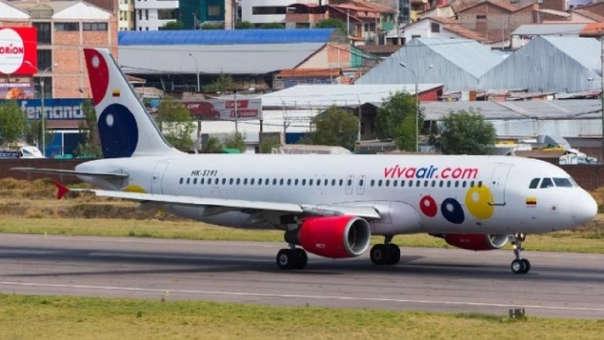 Viva Air opera en el Perú desde mayo de 2017.