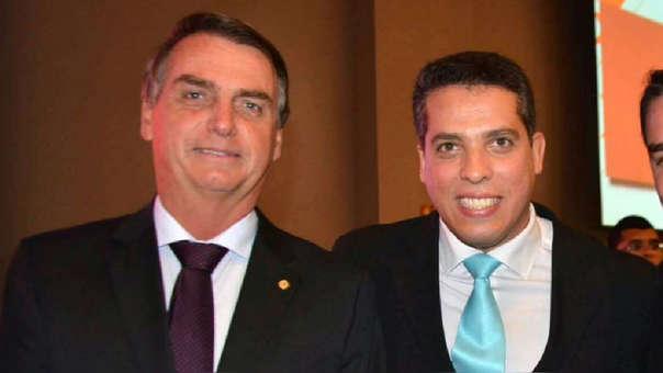 Jair Bolsonaro y Rodrigo Amorim