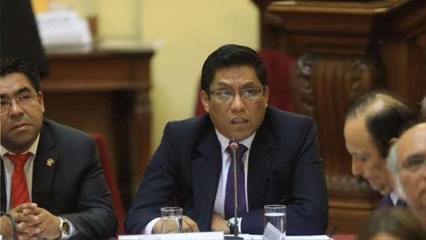 El ministro de Justicia afirmó que la circunstancias ameritan una respuesta rápida del Congreso.