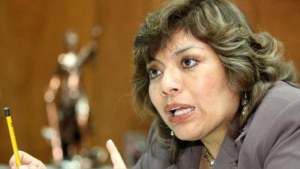 Zoraida Ávalos junto a Pablo Sánchez pidieron la renuncia de Pedro Chávarry.