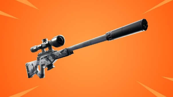 Rifle con silenciador - Fortnite