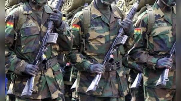 Soldados Bolivia