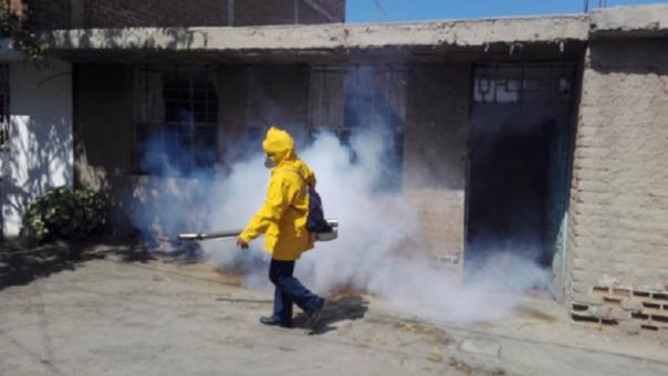 Acciones de lucha contra el dengue