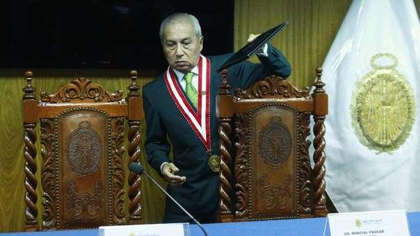 Pedro Chávarry anunció que renunciará al cargo de fiscal de la Nación.