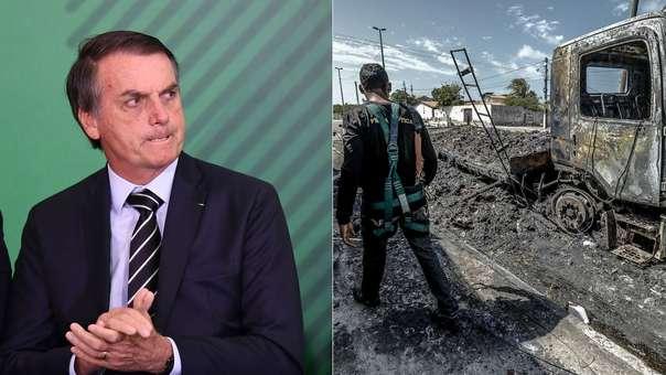 Jair Bolsonaro se enfrenta a una ola de violencia en Brasil
