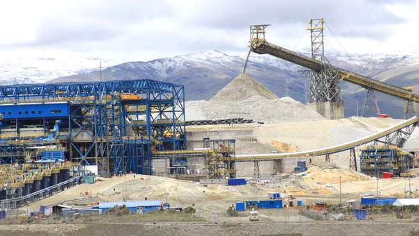 En el acumulado enero –noviembre 2018, la región Arequipa se consolida como la principal productora de cobre representando el 20.5%.