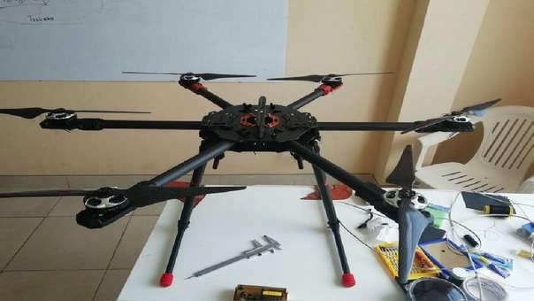 Dron para luchar contra la delincuencia