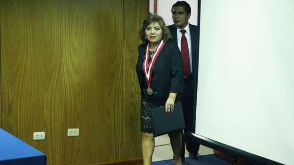 Zoraida Ávalos es desde este martes la fiscal de la Nación.