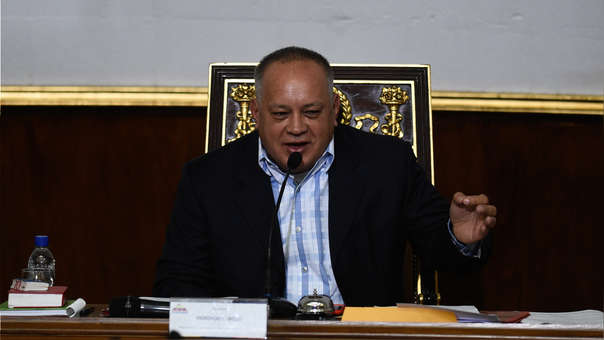 VENEZUELA-POLITICS-NATIONAL-CONSTITUENT-ASSEMBLY-CABELLO
