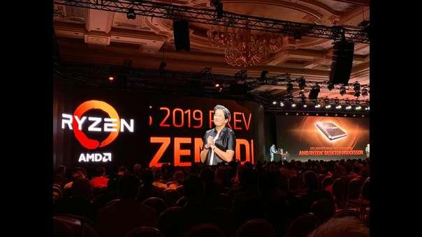 Lisa Su, presidenta de AMD mostró benchmark y pruebas de los próximos productos.