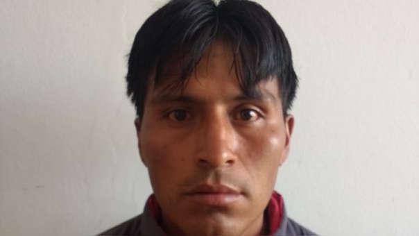 Yoel Parhuana Ayala fue detenido con sus tres menores hijos.