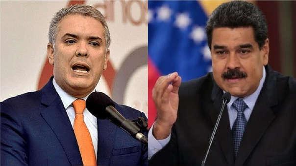 Ivan Duque y Nicolás Maduro
