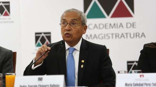 Pedro Chávarry renunció al cargo de Fiscal de la Nación tras varios cuestionamientos.