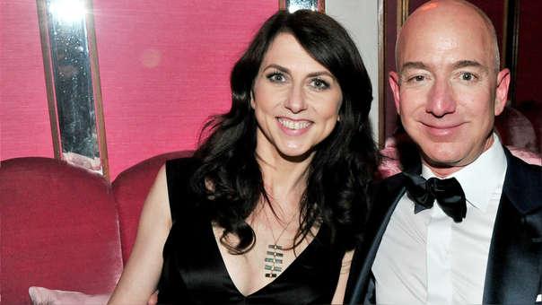 McKenzie y Jeff Bezos
